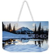 The Mountain Is Calling Weekender Tote Bag