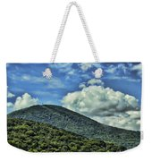 The Mountain Meets The Sky Weekender Tote Bag