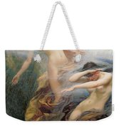 The Mountain Mists Weekender Tote Bag