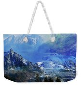The Mountains Melting Snows Weekender Tote Bag