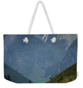 The Mountains Of Switzerland Weekender Tote Bag