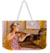 The Music Of Silence Weekender Tote Bag