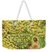 The Mustard Seed Weekender Tote Bag