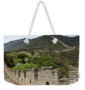 The Mutianyu Section Of The Great Wall Of China, Mutianyu Valley Weekender Tote Bag