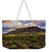 The Mystical Beauty Of The Superstitions  Weekender Tote Bag