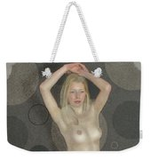 The Naked Dance By Mb Weekender Tote Bag