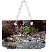 The Narrows, Zion National Park, Utah Weekender Tote Bag