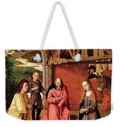 The Nativity By Gerard David  Weekender Tote Bag
