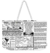 The Nautical Migrations Of Our Ancestors Weekender Tote Bag