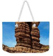 The Navajo Twin Rocks Weekender Tote Bag