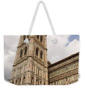 The Neo Gothic Facade Of The Duomo In Florence Weekender Tote Bag