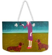 The New Addition Weekender Tote Bag