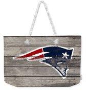 The New England Patriots 3c Weekender Tote Bag