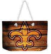 The New Orleans Saints 3b Weekender Tote Bag