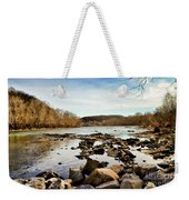 The New River At Whitt Riverbend Park - Giles County Virginia Weekender Tote Bag