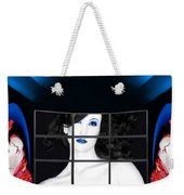 The New Year's Dream - Self Portrait Weekender Tote Bag