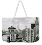 The New York Skyline Weekender Tote Bag