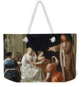 The Newlyweds Weekender Tote Bag