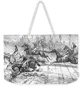 The Newport Pagnel Steeple Chase Weekender Tote Bag