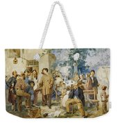 The News Of Villafranca Weekender Tote Bag
