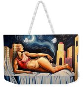 The Night Muse Weekender Tote Bag