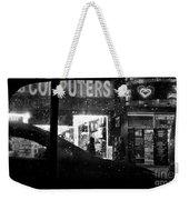 The Night Side Of Town - New York Weekender Tote Bag
