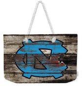 The North Carolina Tarheels 3e Weekender Tote Bag