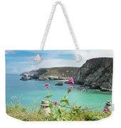 The North Cornwall Coast Weekender Tote Bag