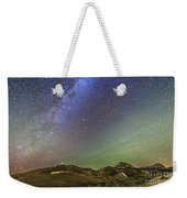 The Northern Autumn Stars Weekender Tote Bag