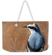 The Northern Wheatear  Weekender Tote Bag