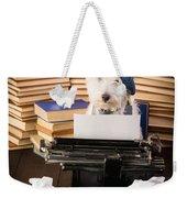 The Novelist Weekender Tote Bag