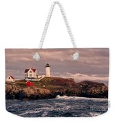The Nubble Lighthouse  Weekender Tote Bag