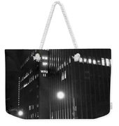 The Ny Daily News Building Weekender Tote Bag