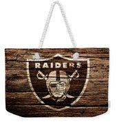 The Oakland Raiders 1e Weekender Tote Bag