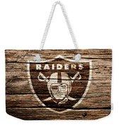 The Oakland Raiders 1f Weekender Tote Bag