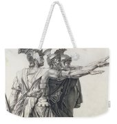The Oath Of The Horatii, Detail Of The Horatii  Weekender Tote Bag