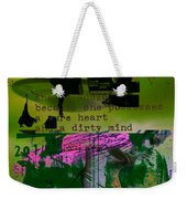 The Obnoxious Saucer Weekender Tote Bag