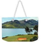 The Ocean Course At Hokuala In Kauai Weekender Tote Bag