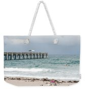 The Ocean Pier Weekender Tote Bag