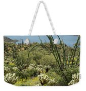The Ocotillo View Weekender Tote Bag