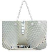 The Oculus Interior Platform Weekender Tote Bag