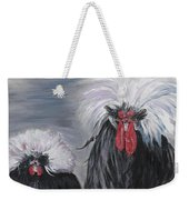 The Odd Couple Weekender Tote Bag by Nadine Rippelmeyer