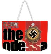 The Odessa File Frederick Forsyth Book Cover 1972 Color Added 2016 Weekender Tote Bag