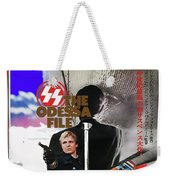 The Odessa File Jon Voight Foreign Theatrical Poster 1974 Color Added 2016 Weekender Tote Bag