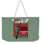 The Office Of Civilian Defense Needs You - Wpa Weekender Tote Bag