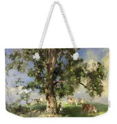 The Old Ash Tree Weekender Tote Bag by Edward Arthur Walton