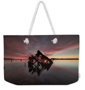 The Old Boat Skeleton Am Weekender Tote Bag