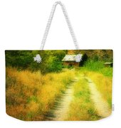 The Old Building Across The Creek Weekender Tote Bag