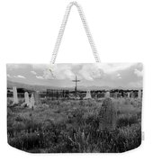 The Old Cemetery At Galisteo Weekender Tote Bag