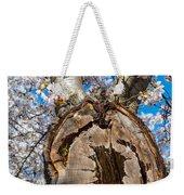 The Old Cherry Tree Weekender Tote Bag